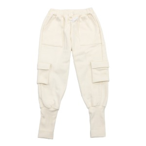 LEG WARMER PANTS CREAM [ 당일 배송 ]